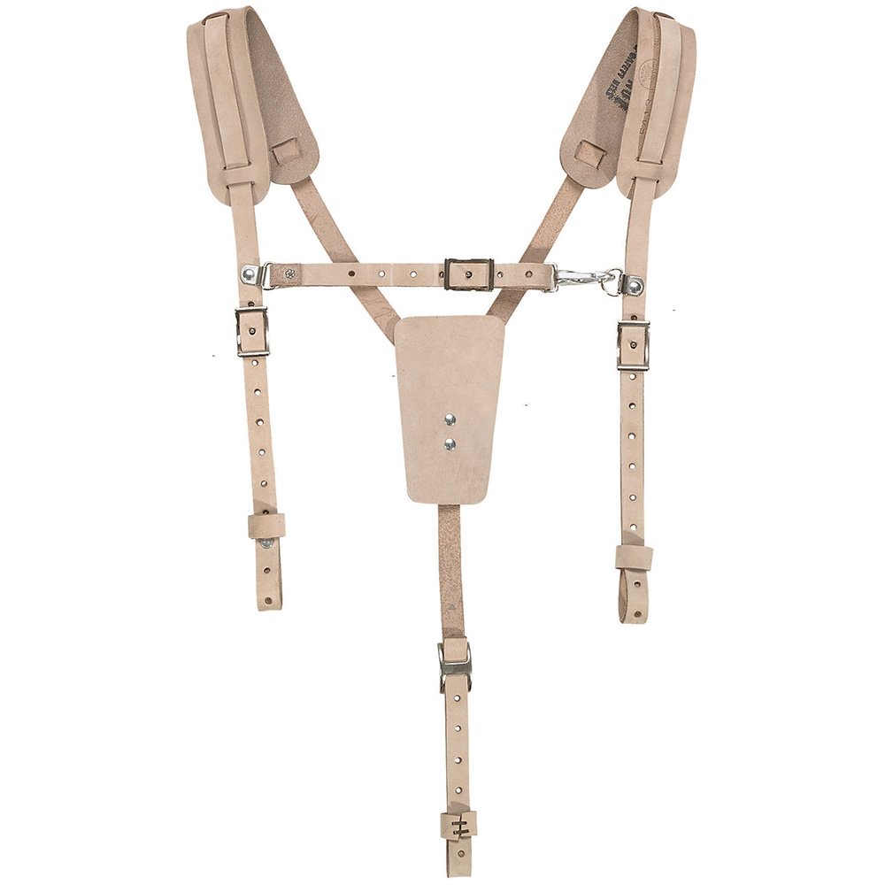KLEIN SAFETY LEATHER BELT SUSPENDERS